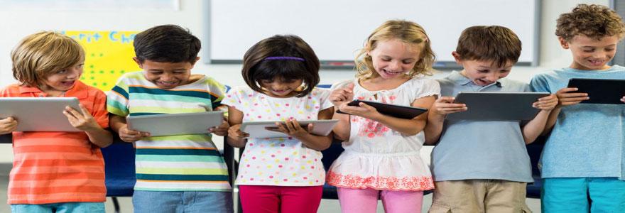 L'usage pédagogique des tablettes numériques