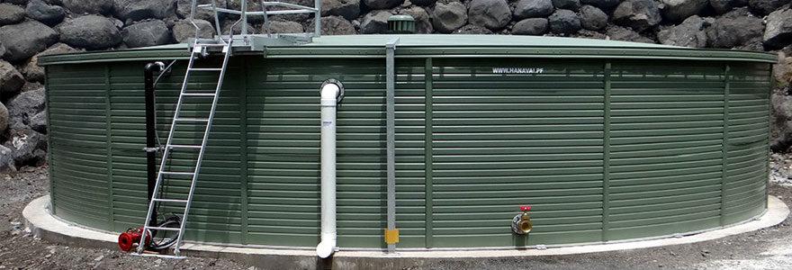 réservoirs d'eau anti-incendie