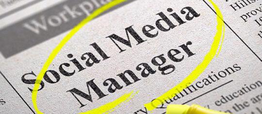 métiers en vogue des médias sociaux